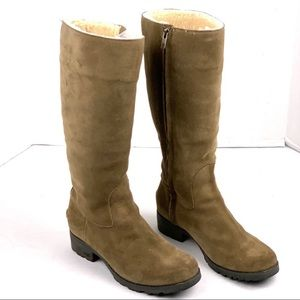 Ugg Tall Suede Boots Sz 8